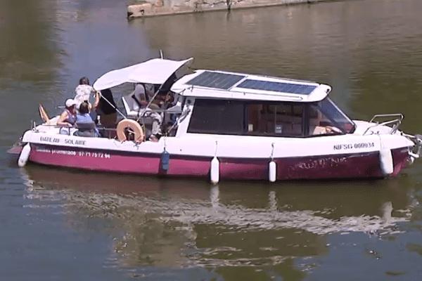 Le Solis, un bateau solaire respectueux de l'environnement