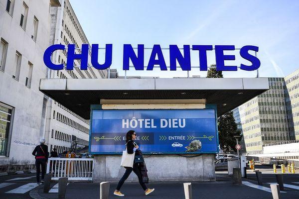 Le CHU de Nantes (ici en avril 2019) accueille le médecin de l'Oise qui avait ausculté le quinquagénaire infecté par le coronavirus actuellement hospitalisé à Amiens.