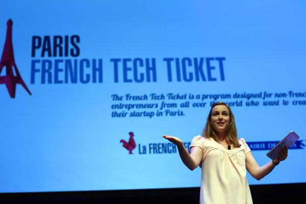 Axelle Lemaire à la French Touch Conference à New York mercredi 24 juin 2015.