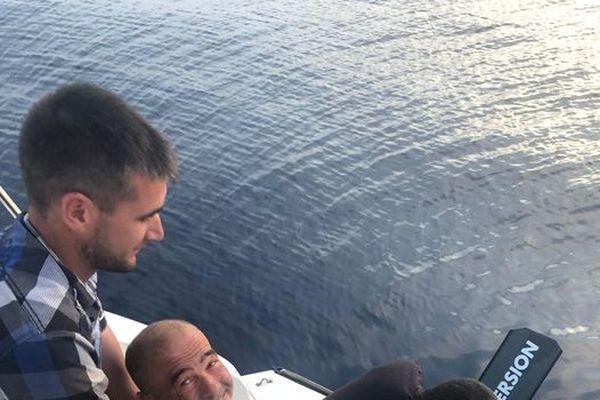 Dernier jour de nage pour Thierry Corbalan après 180 km entre Calvi et Mandelieu