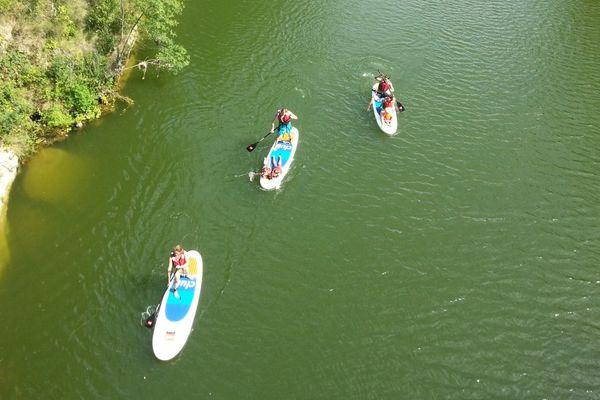 ARCHIVES Stand Up Paddle en eau douce