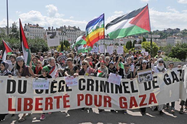 A l'été 2014, lors d'une précédente crise au Proche Orient, des manifestations en soutien à la Palestine avaient rassemblés jusqu'à 10 000 personnes à Lyon.