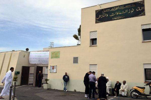 Les musulmans s'étaient déjà réunis à la Paillade, mosquée de Montpellier, le 20 novembre après les Attaques de Paris.
