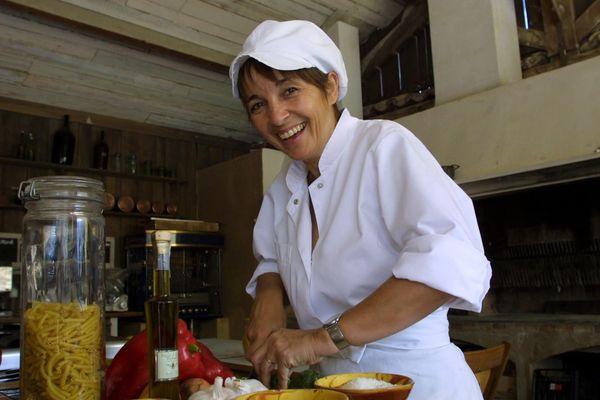 Reine Sammut chef cuisinier de l'auberge La Fenière.