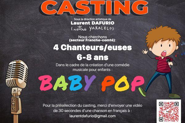 Un casting pour une comédie musicale en Franche-Comté