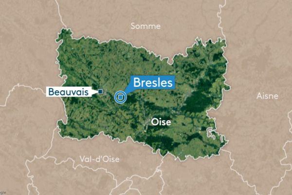 L'accident s'est produit sur la RD31, entre Clermont et Beauvais.