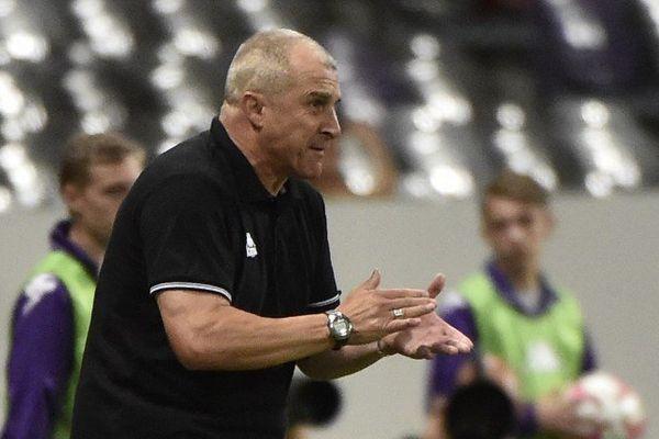 Alain Casanova, l'entraîneur du TFC