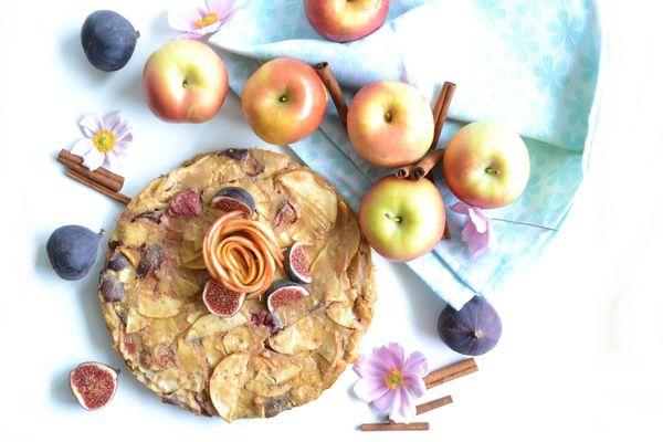 Invisible aux pommes et aux figues, par Lucie Brisotto.