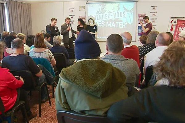 """Première réunion de """"Mater en colère"""" à Bernay le samedi 26 janvier 2019"""