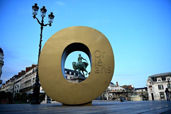 La statue de Jeanne d'Arc à Orléans. Photo d'illustration
