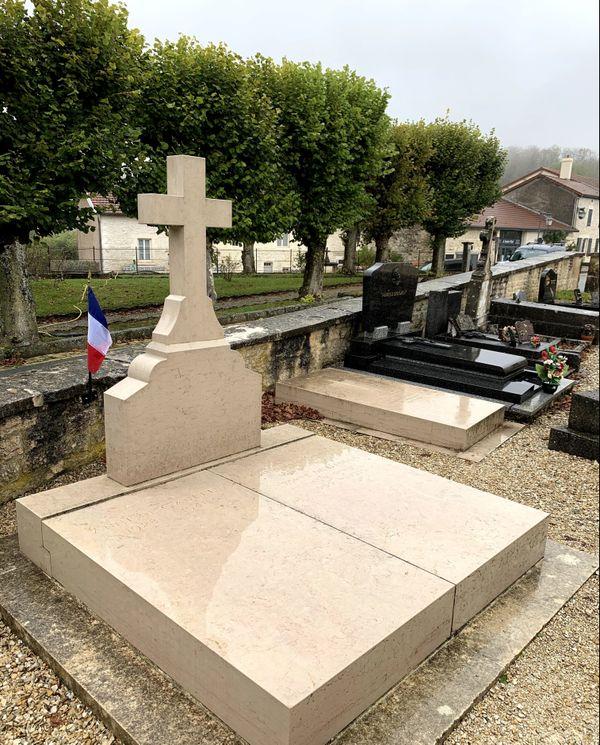 La tombe du général de Gaulle à Colombey-les-deux-Eglises.