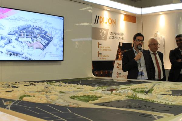 La Cité de la Gastronomie et du vin à Dijon est présentée cette semaine au MIPIM à Cannes