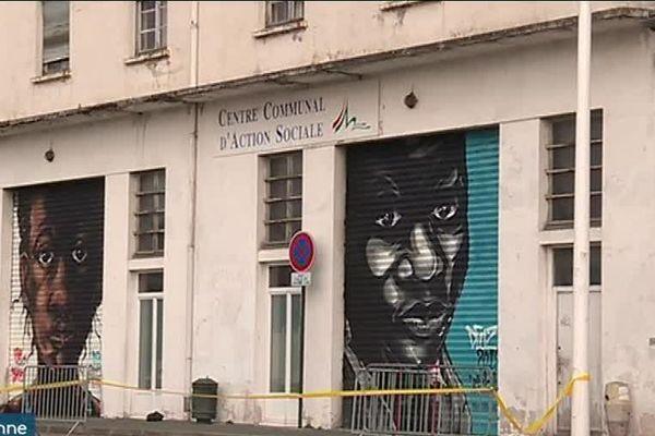 Un centre d'accueil est en train de voir le jour dans les anciens locaux du centre d'action sociale, quai de Lesseps, à Bayonne