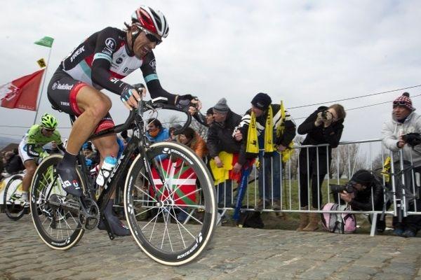 Fabian Cancellara sur les pavés Tour des Flandres 2013