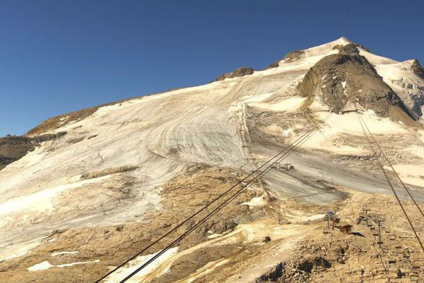 Fermeture Anticipee Du Glacier De La Grande Motte A Tignes Qui A Trop Chaud
