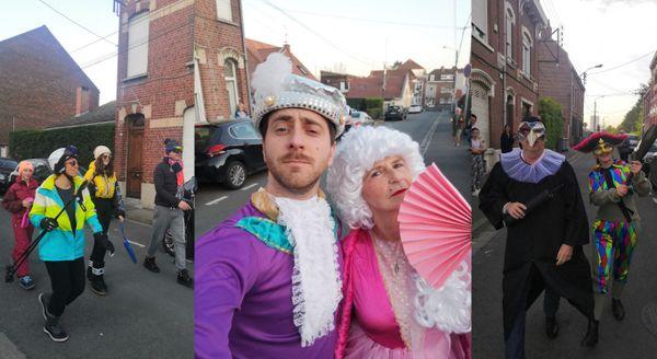 Chaque soir à Wattignies, c'est carnaval.