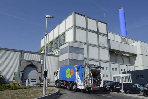 Le centre de traitement des déchets ménagers Alcéa de Nantes Métropole.