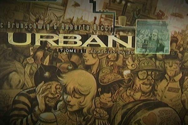 1er tome de URBAN, bande dessinée de Luc Brunschwig et Roberto Ricci