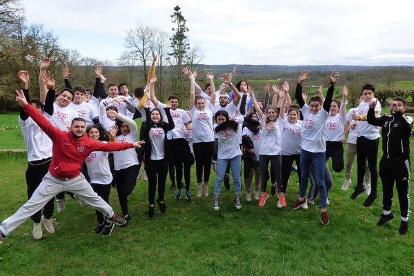 Groupe de stagiaires BAFA à Panazol Haute-Vienne en 2019