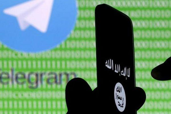 L'application de messagerie Telegram, très utilisée par les jihadistes.