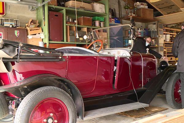 Jean-Pierre Moga est lui-même un passionné de voitures de collection
