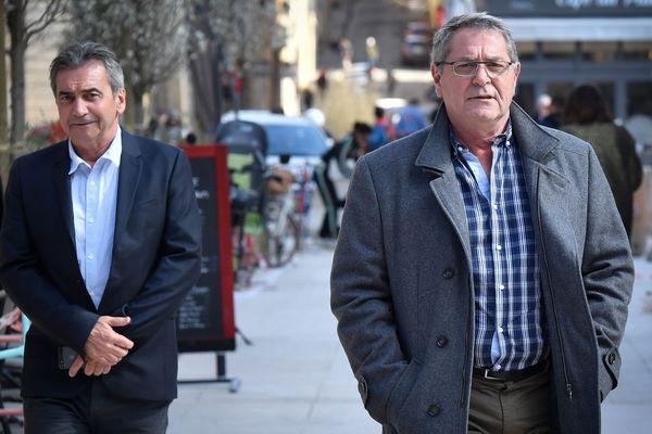 """Bruno Odos et Pascal Fauret, les deux pilotes de l'affaire """"Air Cocaïne"""", ont été condamnés à la prison ferme."""