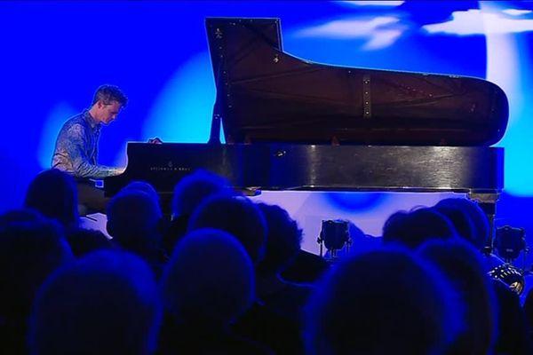 L'artiste s'est inspiré des œuvres du musée pour composer.