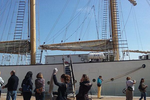 Le grand voilier le Dar Mlodziezy est arrivé à Sète le 22 mars 2016 pour Escale à Sète