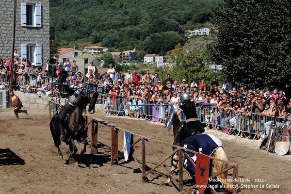 Depuis 2011, Levie se transforme en village médiéval le temps d'un week-end