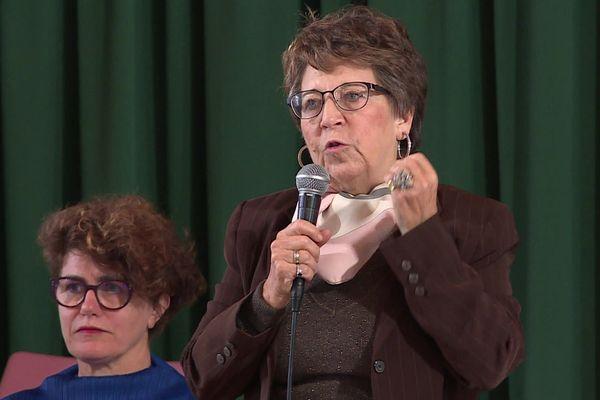 Corinne Lepage, ancienne ministre de l'environnement, avocate de l'association Rouen Respire