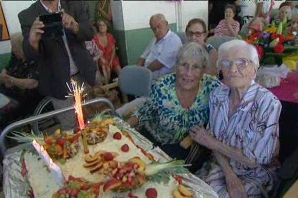 Marie Allène a eu 107 ans !