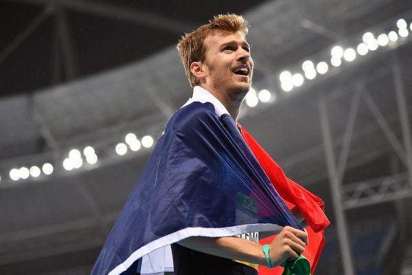 Christophe Lemaitre remporte la médaille de bronze du 200 mètres aux JO de RIO le 18 août 2016