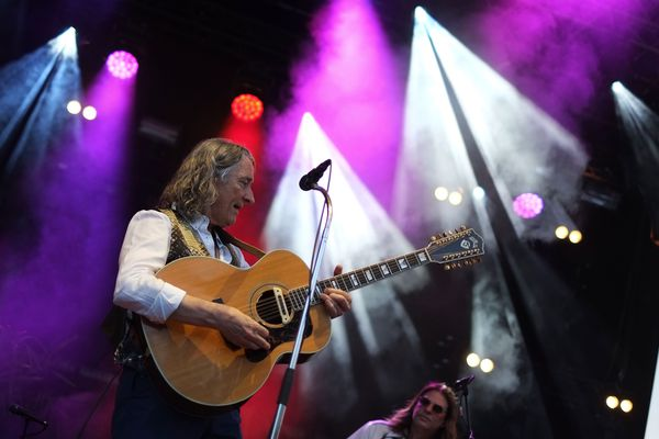 Le concert de Roger Hodsgon à Cognac