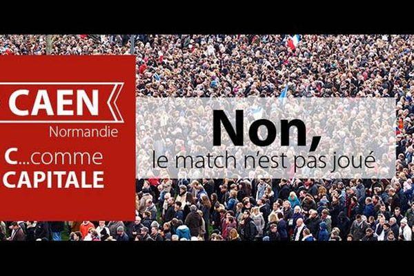 Une page Facebook défendant la place de Caen dans la future Normandie réunifiée vient tout juste d'être créée