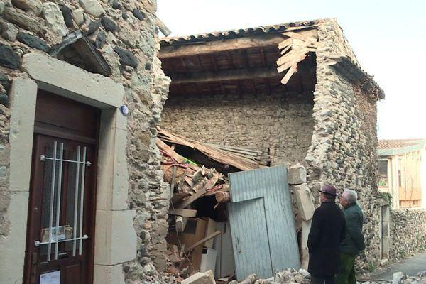 Un tremblement de terre d'une force inédite dans la région : Le Teil frappé par un séisme de magnitude 5,4 sur l'échelle de Richter le 11 novembre 2019 - archives
