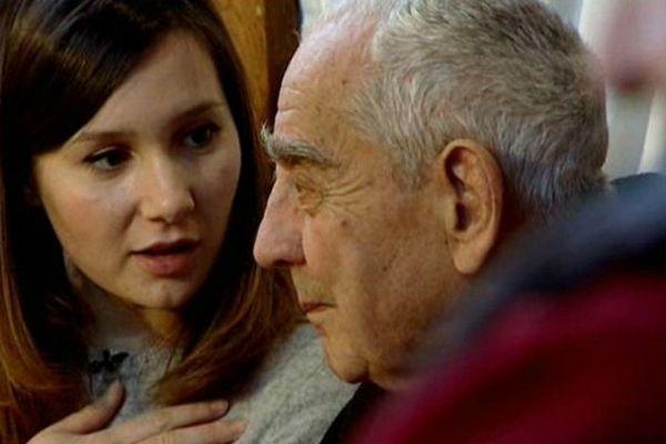 Morgane Denzler a échangé avec les résidents de la maison de retraite de Seurre pendant quinze jours.
