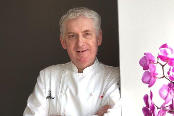 Marc Briand, le chef une étoile du restaurant L'Anthocyane à Lannion.