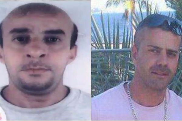 A gauche, Ahmed Hamadou, disparu en 2012. A droite, Nordahl Lelandais (photo publiée sur son compte Facebook)