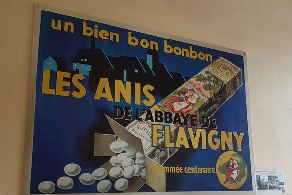 Les Anis de Flavigny sont des friandises fabriquées à Flavigny-sur-Ozerain, dans une ancienne abbaye bénédictine située en Côte-d'Or, en Bourgogne.