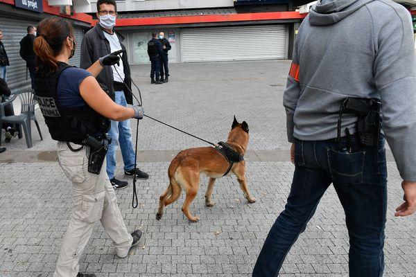Une opération anti-drogue a été menée à Strasbourg le 22 juillet.