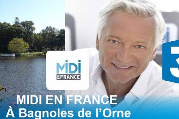 Laurent Boyer et toute l'équipe de Midi en France seront à Bagnoles-de-l'Orne du 20 au 24 octobre