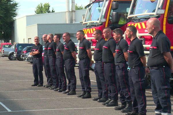 14 sapeurs-pompiers de Côte-d'Or ont pris la route en direction du sud ce vendredi 21 août