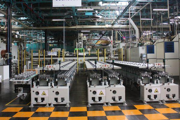L'usine PSA de Douvrin