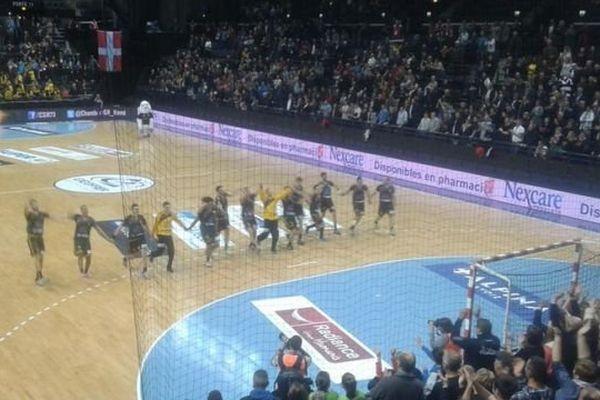 La joie des handballeurs chambériens