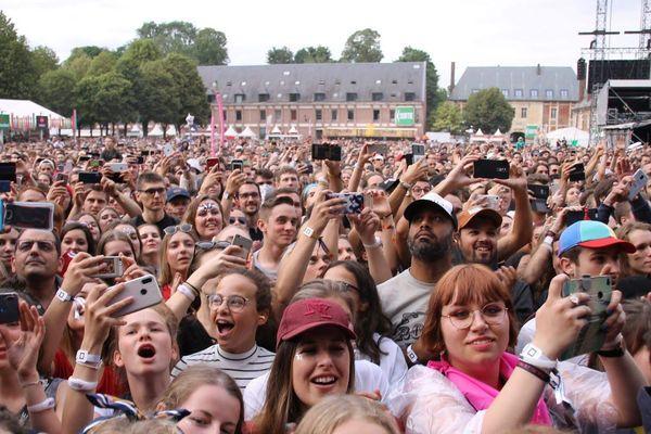 Le public du Main Square Festival d'Arras l'été dernier.