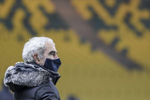 Raymond Domenech de la rencontre entre le FC Nantes et le Stade Rennais, le 6 janvier 2020