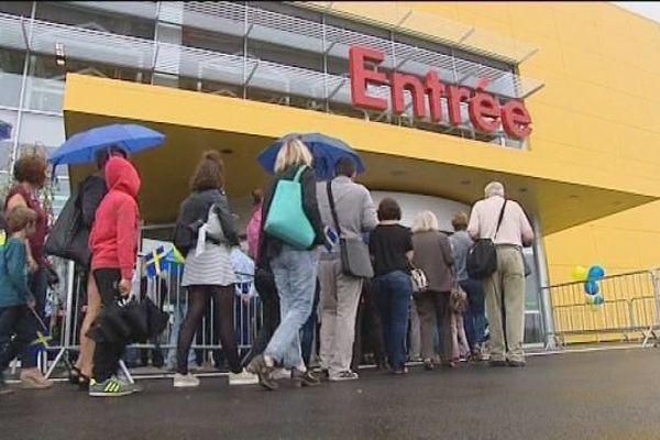 Un magasin Ikea à Mulhouse vient d'ouvrir. Une aubaine pour de nombreux francs-comtois.