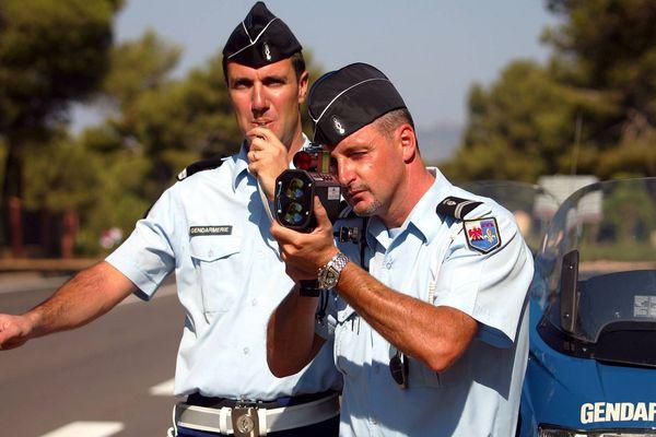 Les gendarmes d'un peloton du Var (Archives)