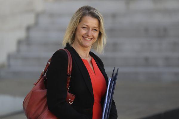 La ministre de la Transition écologique et solidaire, Barbara Pompilli, après la première réunion de son cabinet à Paris.