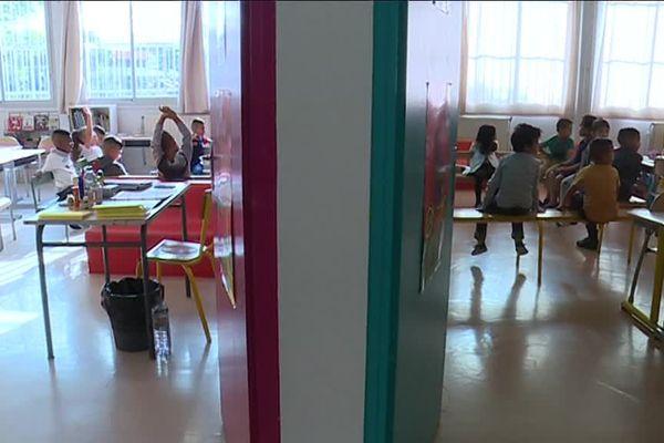 Les élèves de CP de l'école Daniel Faucher ont fait leur rentrée dans des classes à 12 élèves maximum.